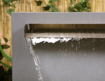 Brunnen inkl. Wasserfallklinge -