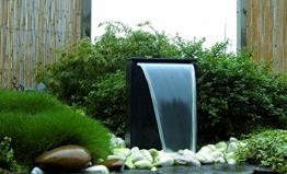 Ubbink Terrassenbrunnen Wasserspiel Dubai Gartenbrunnen Kugel LED -