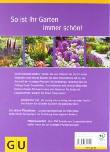 Ganzjährig schöne Beete: Gestaltungsideen für jeden Standort (GU Ratgeber Gartengestaltung) -