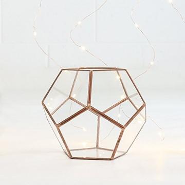 vase mini gew chshaus terrarium aus glas und metall farbe kupfer 15 8 cm von festive lights. Black Bedroom Furniture Sets. Home Design Ideas