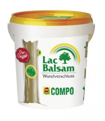 COMPO Lac Balsam®, rindenfarbiges Wundverschlussmittel, für Obst- und Ziergehölze, nicht bienengefährlich, 1 kg -
