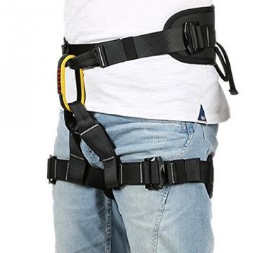 Gazechimp Kletterausrüstung Fallschutz Hüftgurt Sitzgurt - Absturzsicherung Fallschutz Klettergurt -