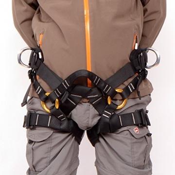 Gazechimp Sicherheitsgurt / Klettergurt für Klettern Baumpflege Abseilen Bergsteigen - Sports -
