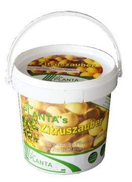 Planta 953811 Plantas Zitruszauber, 1 kg, mineralisches Spezialnährsalz für Zitruspflanzen -