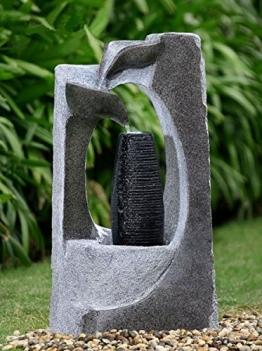 Brunnen Springbrunnen FoColonnina für Aussen + Innen 87 cm - 1