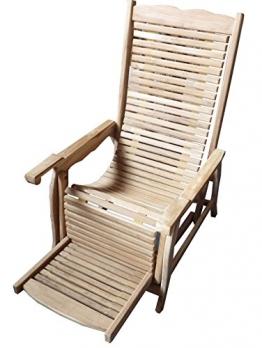 Viking Chair 2944 110x69x110cm Teakholz selected Kernholz unbehandelt zusammengebaut - 1
