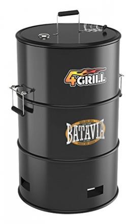 Batavia Grill, schwarz, 56,8 x 56,8 x 91,6 cm, 7062425 - 1