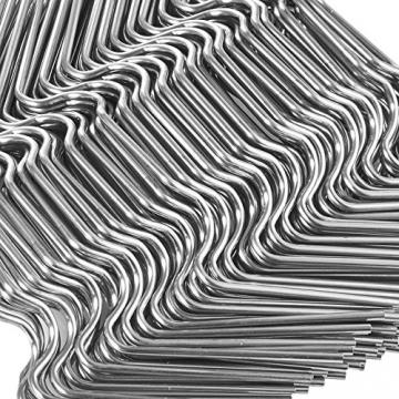 120 Stück ✔ Gewächshaus Klammern,Y&J ✔ Extra Thick(1.6mm) ✔ Anti-Rost ROSTFREIER Edelstahl Gewächshausklammern für Gewächshaus & Glashaus Hohlkammerstegplatten (120 Stück Super-Wert-Paket) - 5