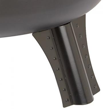 AmazonBasics Feuerstelle, Stahlgitter, 60cm - 6