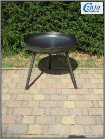 Feuerschale Ø 80 cm mit langen Beinen - 2