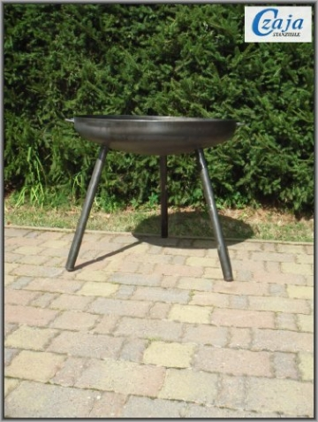 Feuerschale Ø 80 cm mit langen Beinen - 3