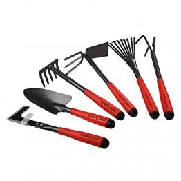 FLORA GUARD Gartengeräte,-6 Stück Garten Werkzeug Set K718 - 1