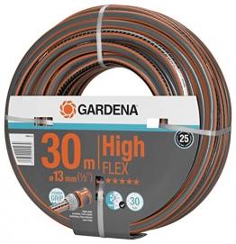 """GARDENA Comfort HighFLEX Schlauch 13mm (1/2""""), 30 m: Gartenschlauch mit Power-Grip-Profil, 30 bar Berstdruck, formstabil, UV-beständig (18066-20) - 1"""