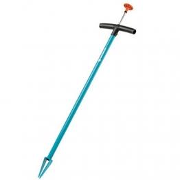 GARDENA Unkrautstecher: Unkrautentferner für effizientes Entfernen von Unkraut, mit Auswerfer, aus gehärtetem Stahl, duroplastbeschichtet (3517-20) - 1