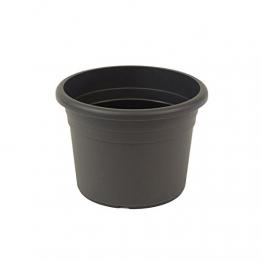 greemotion Pflanzkübel Fiona, UV-Beständiger Blumentopf aus Kunststoff, Pflanzgefäß mit Bodenlöchern, Volumen ca. 35 l, ca. Ø 50 x H 35,5 cm - 1