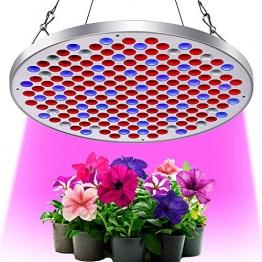 KINGBO Neu 50W LED Pflanzenlampe Grow Light Vollspektrum Pflanzenlicht Led Grow Lamp für Pflanzen Gewächshaus Hydrokulturpflanzen Seeding und Blumen - 1