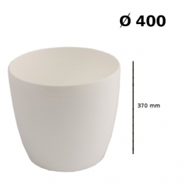 Prosper Plast duo400-s44940x 36,5cm Coubi Blumentopf, weiß 1 stuck - 1