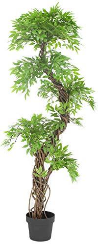 Stilvoller künstlicher Baum & Pflanzen, Der Japanese Fruticosa Tree ist eine wunderschöner künstliche Pflanze für Büros und Innendekorationen Höhe: 165cm groß. Pflanzen für einen Wintergarten - 1