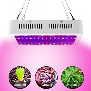 TXVSO 1200W LED-Pflanze wachsen Licht, volles Spektrum für Gewächshaus- und Innenwasserpflanzen-blühende Gemüse-wachsende Lampen weniger Hitze und größere Erträge - 6