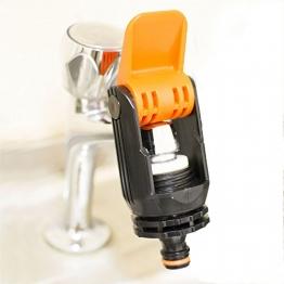 Universal Wasserhahn-Anschluss Adapter Mixer Küche Garten Schlauch - 1